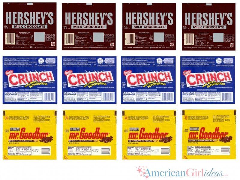 It is an image of Striking American Girl Printables Food