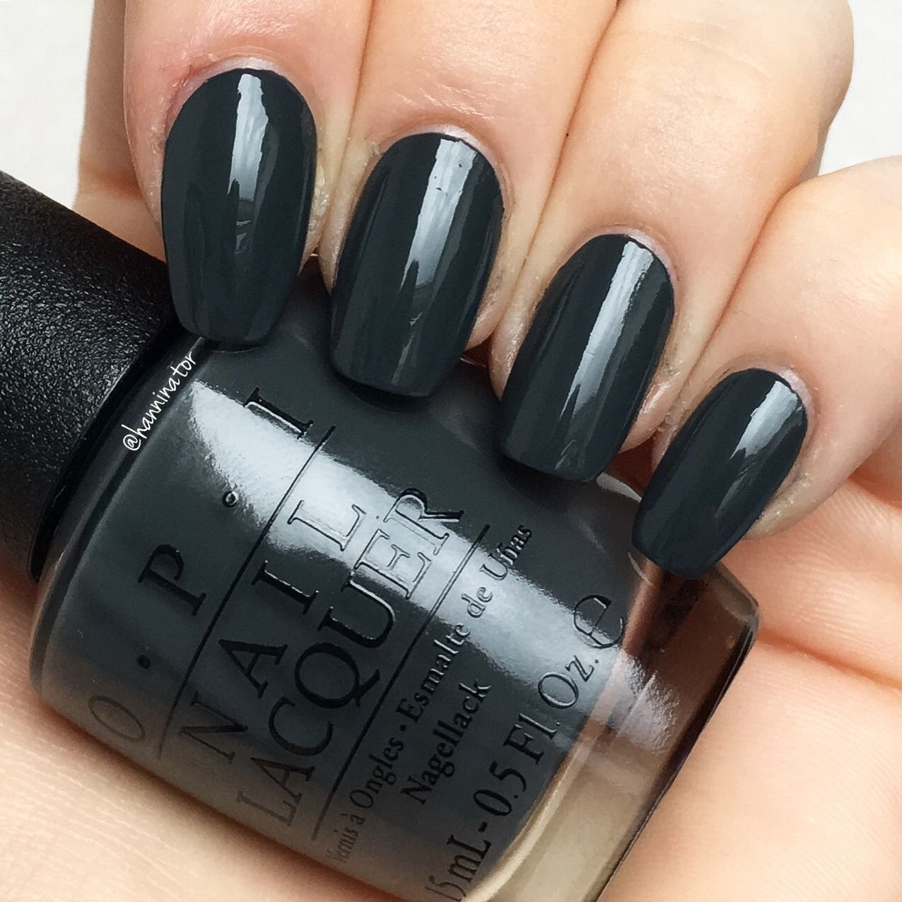 """""""Liv"""" in the gray - OPI Washington DC collection"""