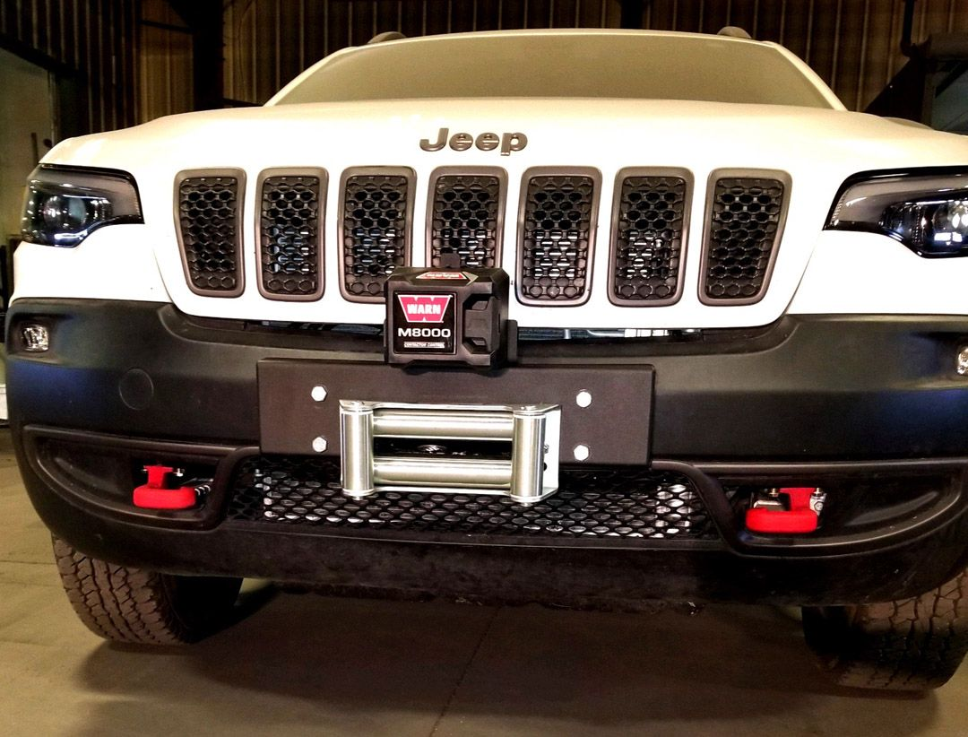 Jeep Cherokee 2014+ bumper winch kits Cherokee KL 2014