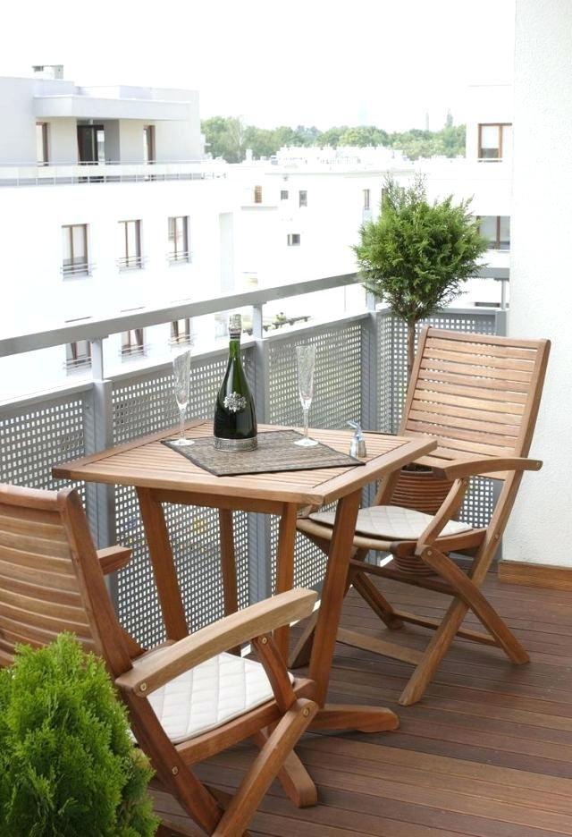 Table Et Chaise Balcon Amacnagement Meubles Dacco Astuces