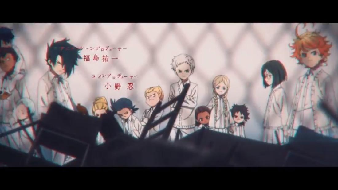 Yakusoku no Neverland opening Anime romance, Neverland