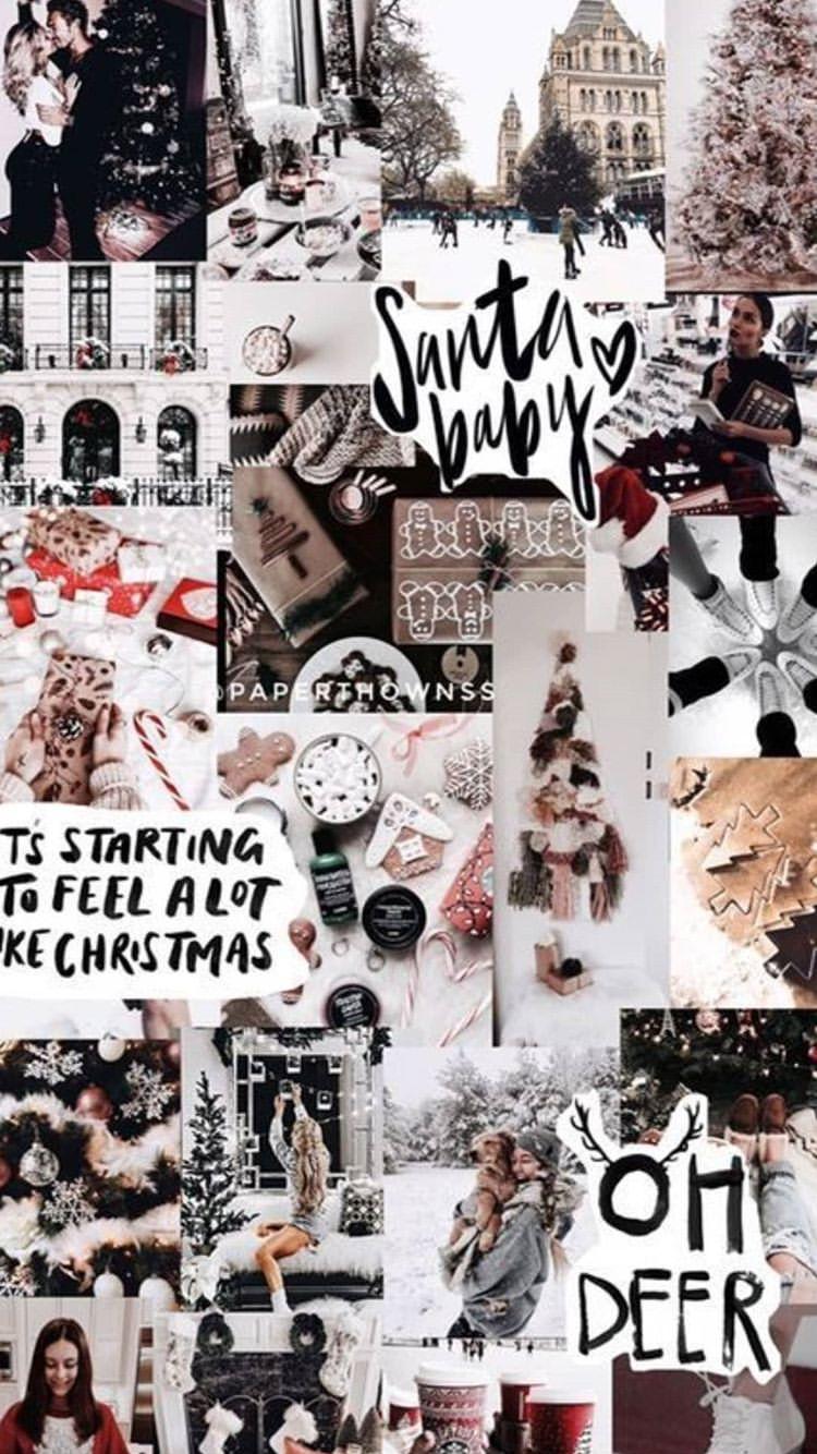 Walpapper In 2020 Wallpaper Iphone Christmas Christmas Wallpapers Tumblr Christmas Phone Wallpaper