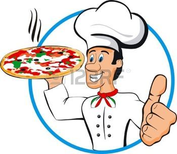 Pizza Cartoon Stock Photos Pictures Royalty Free Pizza Cartoon Images And Stock Photography Pizza Cartoon Chef Cartoon Pizza Logo