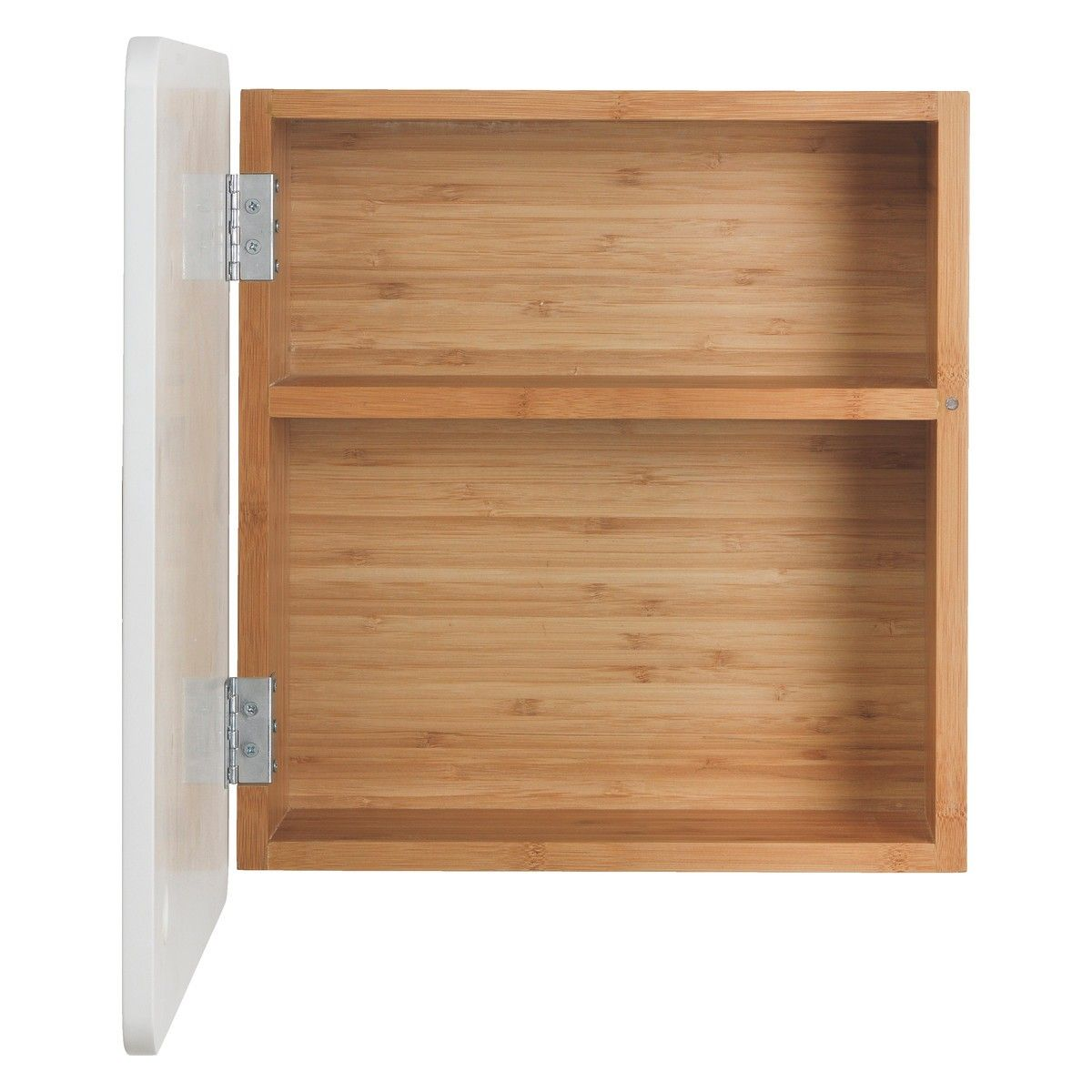 Odin Bamboo Bathroom Cabinet With Mirror