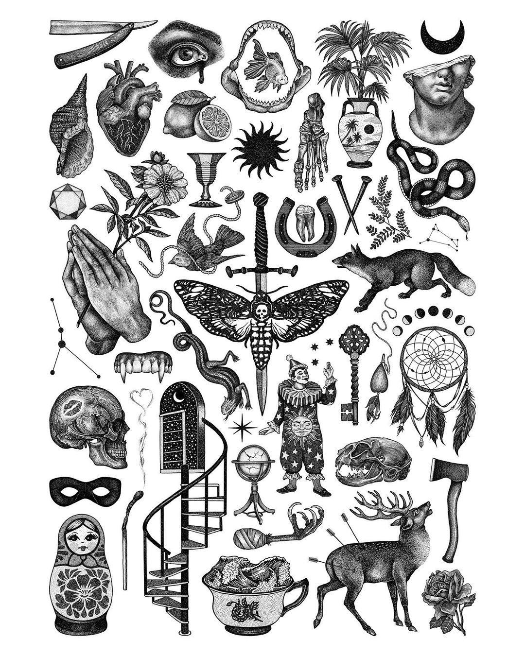Lloyd Stratton On Instagram Rituals Live In My Store Tonight At 6pm Gmt Free Sticker Set Small Tattoos Old School Tattoo Designs Traditional Black Tattoo