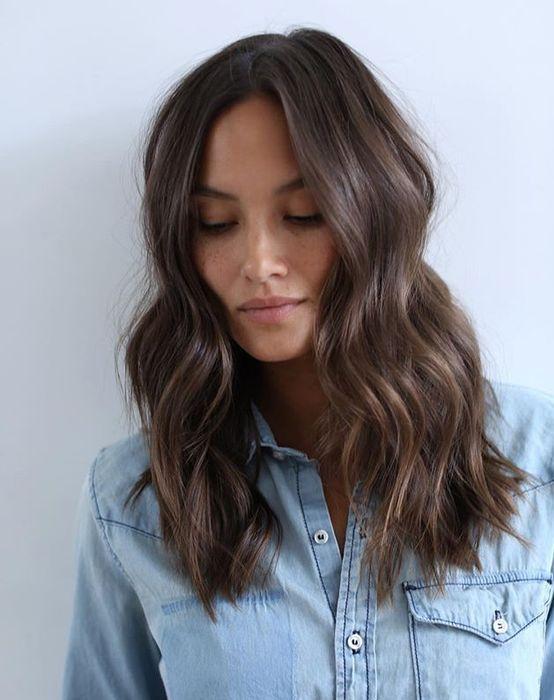 Medium Length Wavy Hairstyles 43 Very Cute Hairstyles For Medium Length Hair  Popular Hairstyles