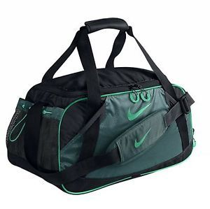 db980229ccf NIKE VARSITY GIRL II MEDIUM DUFFLE GYM BAG GREEN. Find this Pin and more on SHOPPING  4 EVERYONE ...
