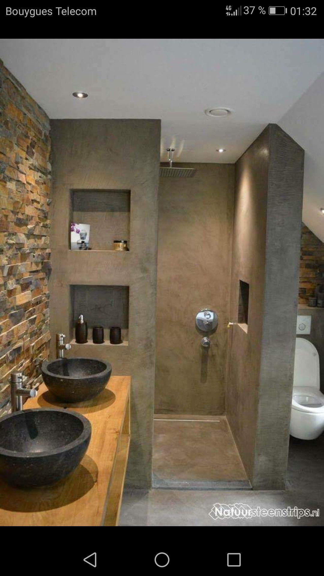 Out door bathroom idea  Houses  Pinterest  Badezimmer Baden und Bad