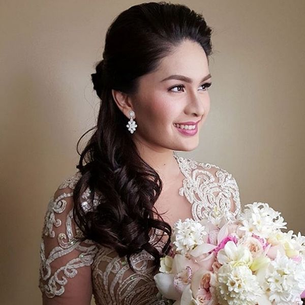 Image Result For Marian Rivera Wedding Hairstyle Wedding Hairstyles Hair Beauty Marian Rivera Wedding