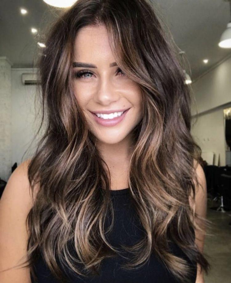 Hair Front Subtle Balayage Brunette Hair Styles Balayage Hair