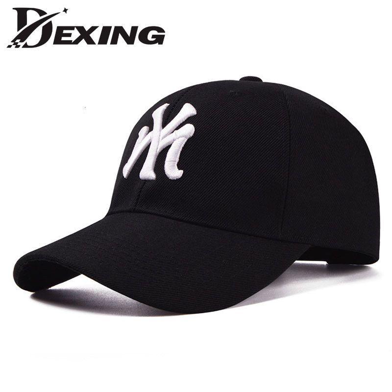 bfcfe375e00 2017 Cotton Baseball Cap Ny Snapback For Man Women Hat Casquette Sport Gorra