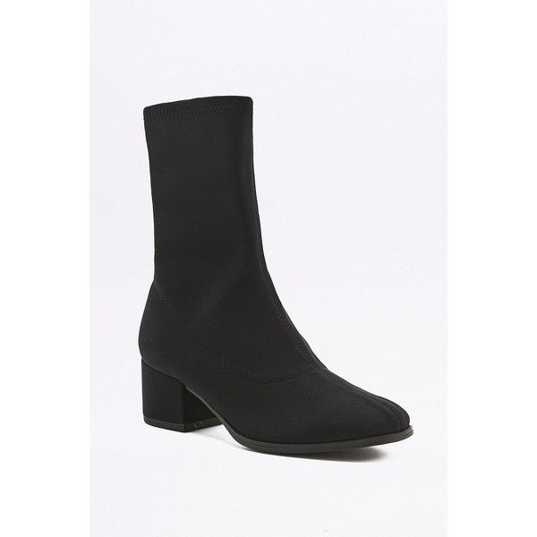 291efcf40fc Vagabond Daisy Stretch Black Sock Ankle Boots ( 125) ❤ liked on Polyvore  featuring shoes