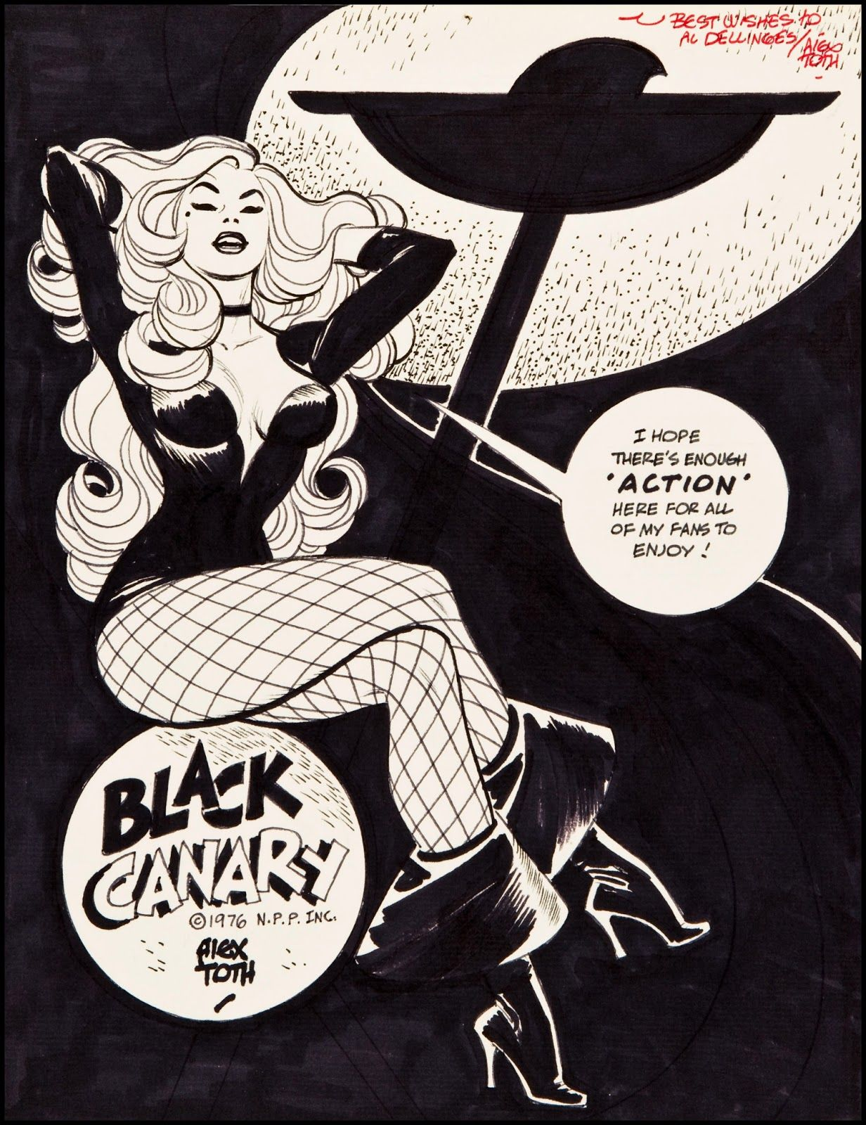 Alex Toth: The Black Canary (1976)