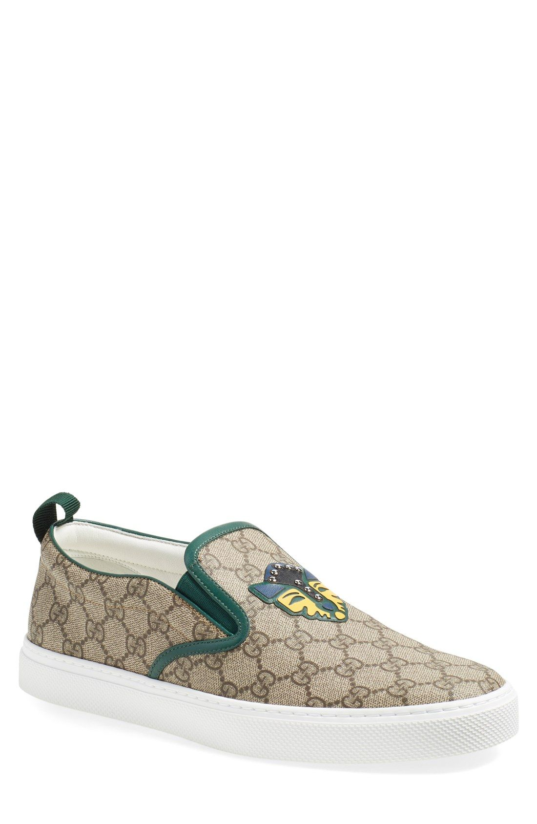 536792003 Gucci 'Dublin' Slip-On Sneaker (Men) | MEN'S FOOTWEAR in 2019 | Slip ...