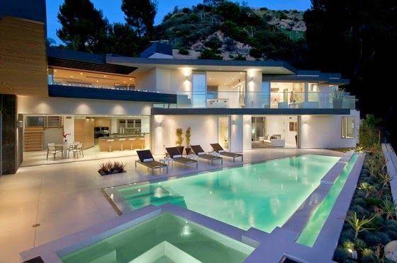 Casa de lujo Doheny / Luca Colombo en Hollywood Hills