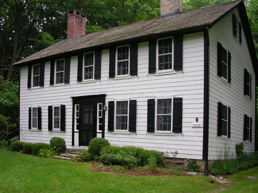 Fabulous White House W Black Gutters Home Improvement Pinterest Ve57