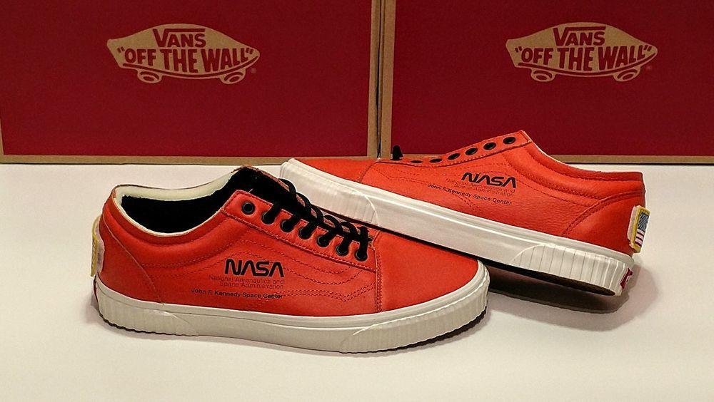 NASA x Vans Old Skool Voyager Firecracker VN0A38G1UPA Size
