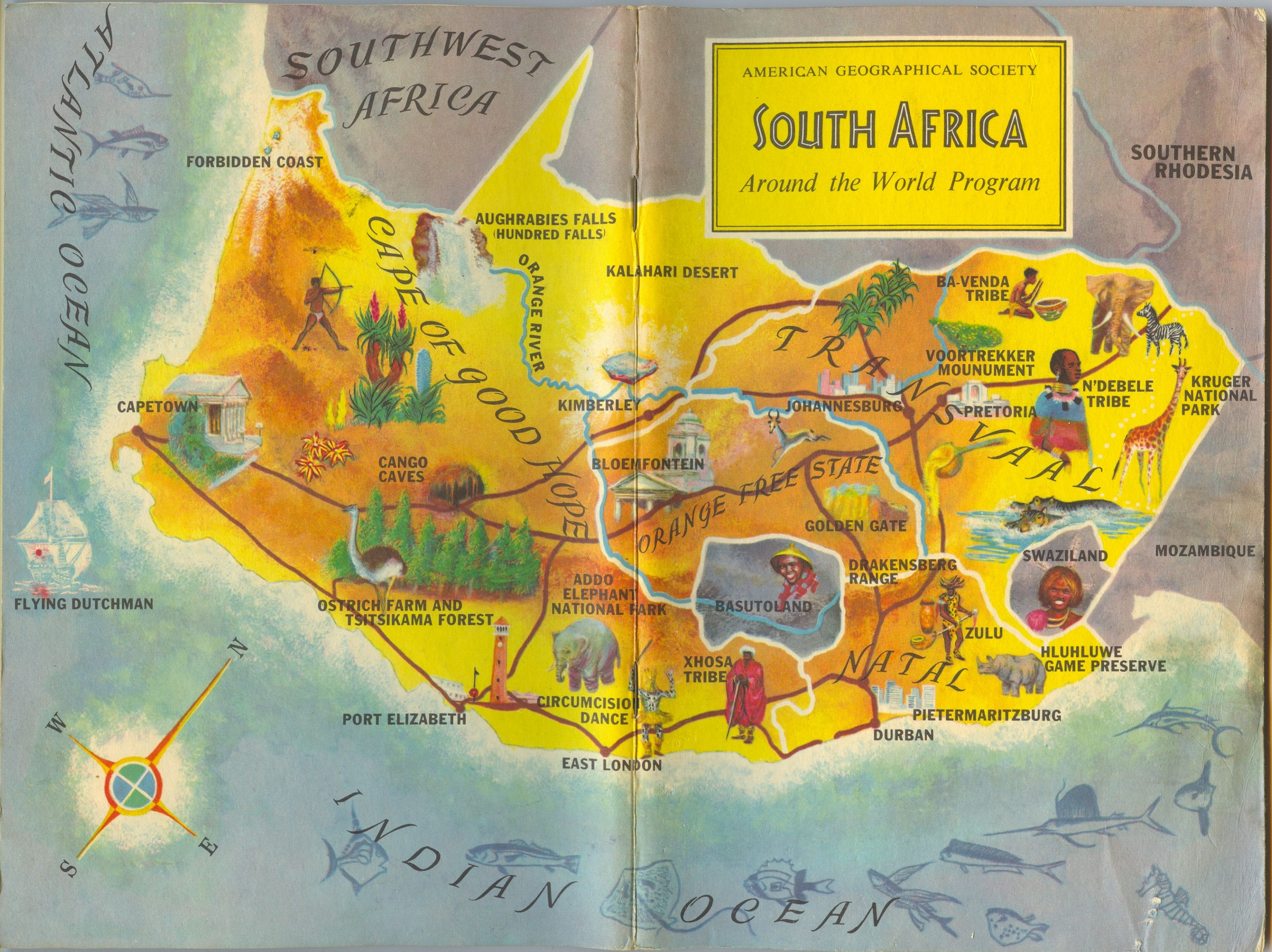 South Africa v02 American Geographical Society Around