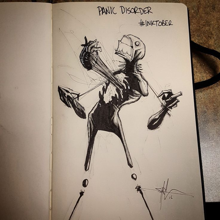 Shawn Coss Illustrates Mental Disorders Part Deux!!