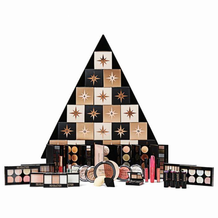 Makeup Revolution Christmas Tree Calendar 2020 Makeup Revolution CHRISTMAS TREE Advent Calendar | BEAUTY88