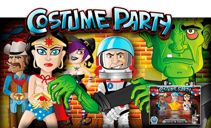 Costume Party Rival Online Slot Oyunu Bedava Oynayin Parti Oyun Kostum