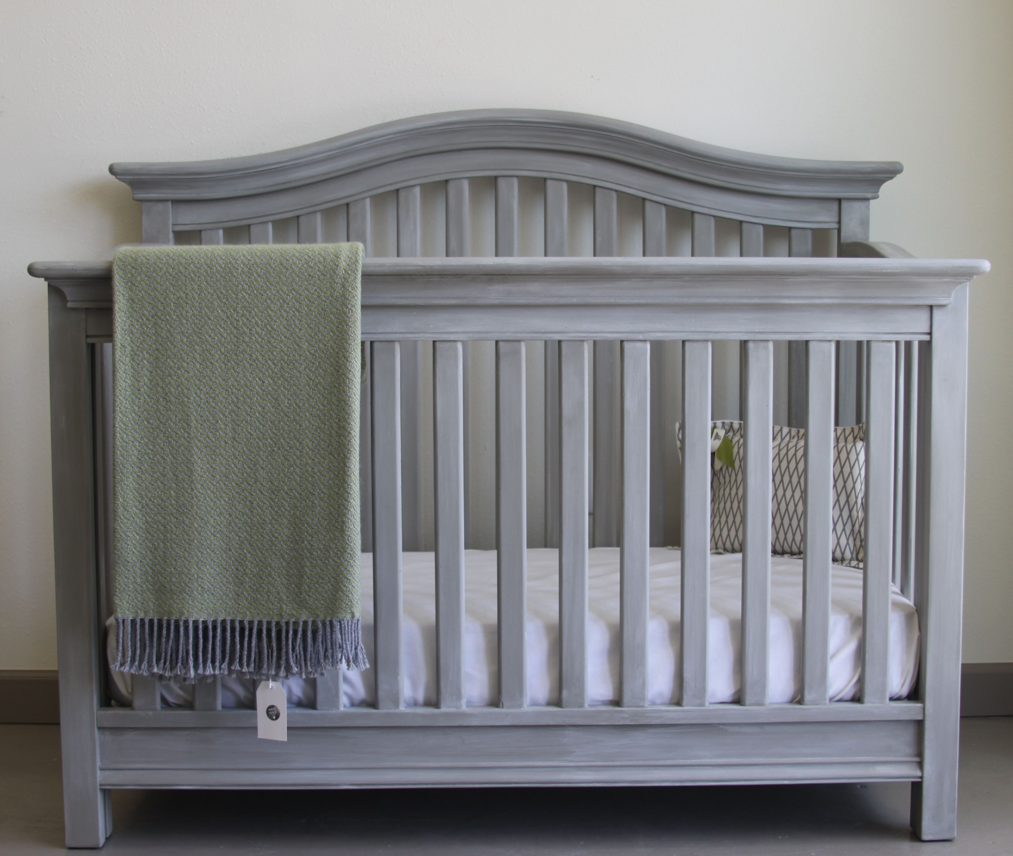 French Linen W Old White Paris Grey Wash Paint Baby