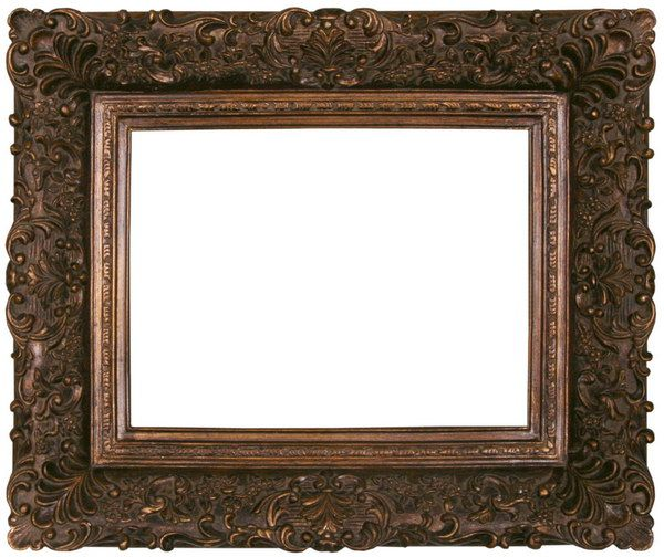 Vintage wooden frames antique frame ta siliver frame ta for How to make vintage frames
