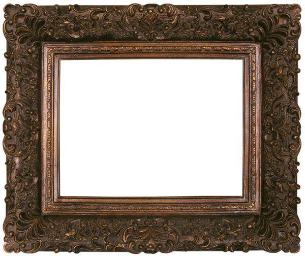 Black Antique Picture Frames | Antique Frame TA-WF-005 - Classical ...