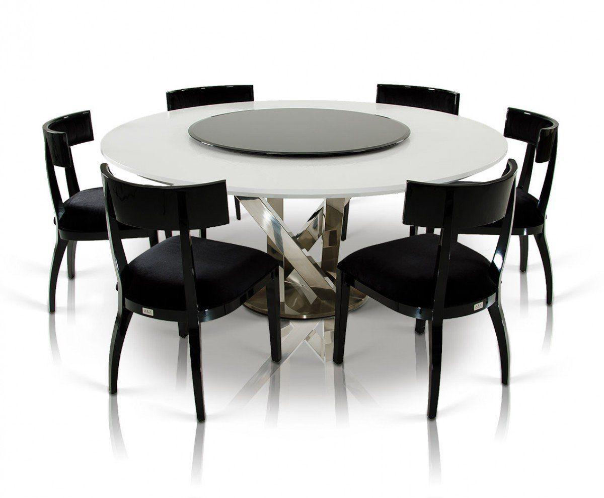 Runde Esstische Fur Ihr Speisezimmer Treffen Sie Die Richtige Entscheidung Modern Dining Room Marble Top Dining Table Dining Table Black