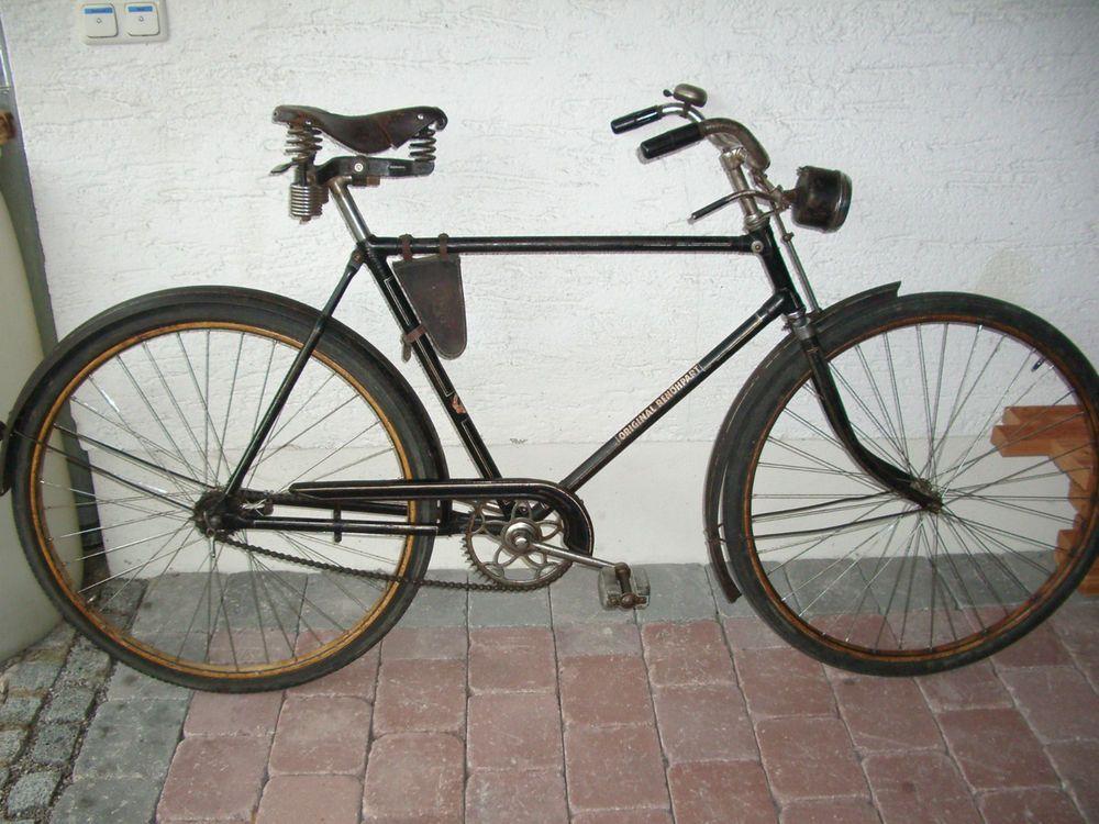 Oldtimer Fahrrad Renohpart Munchen Herrenrad Fahrrad 20er Jahre