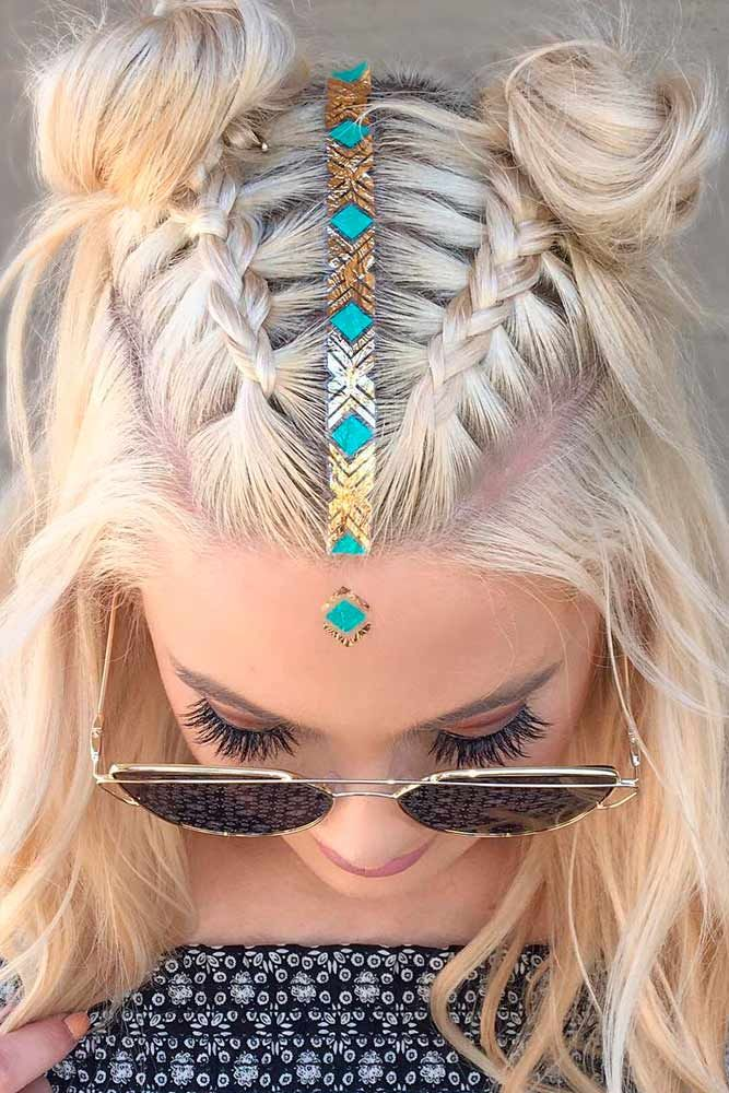 15 Cute Braided Hairstyles For Short Hair Lovehairstyles Com Hair Styles Medium Hair Styles Medium Length Hair Styles