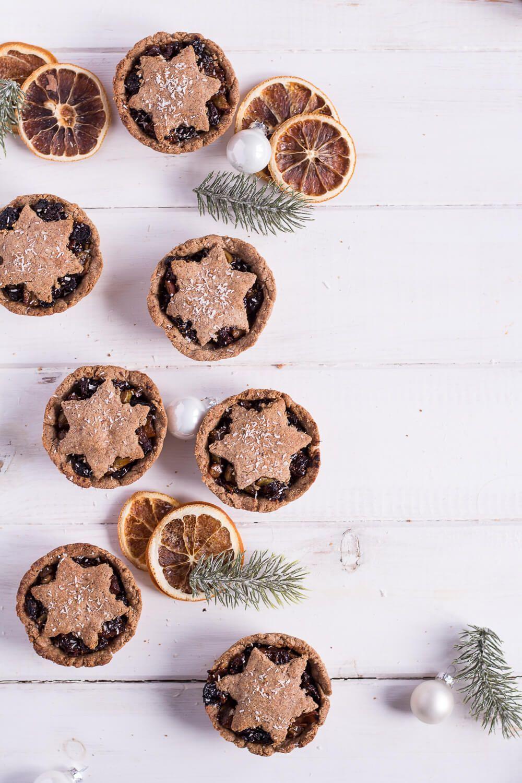 Gesunde Mince Pies - Heavenlynn Healthy : Die gesunde Weihnachtsbäckerei & viele gesunde Weihnacht