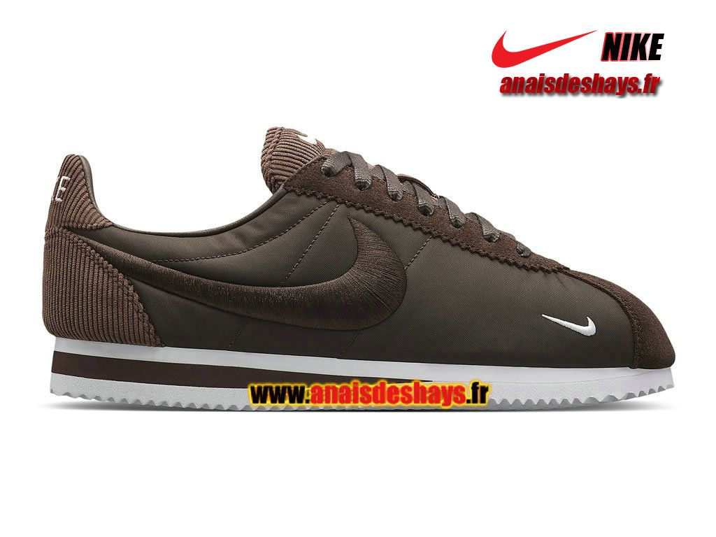 chaussure nike marron homme