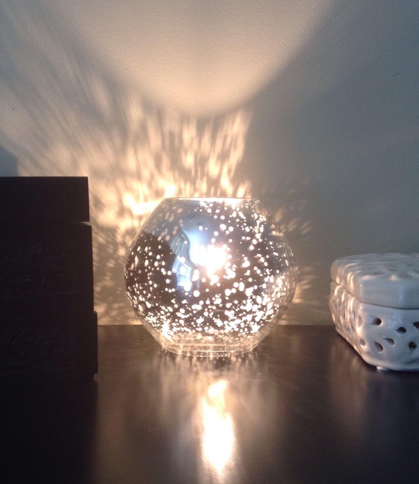 Silver IKEA Knubbig Lamp