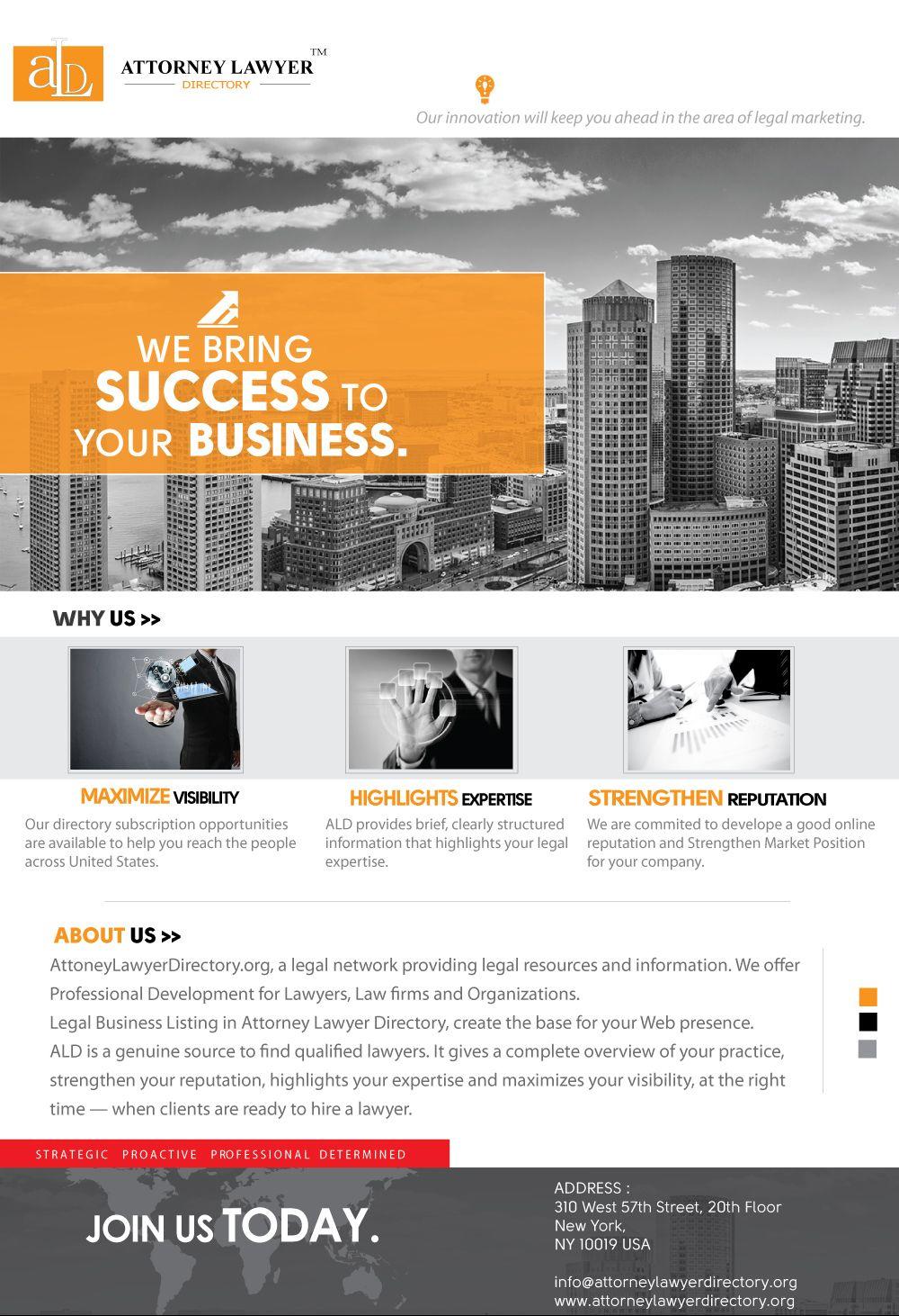 Attorney Lawyer Directory Flyer Http Attorneylawyerdirectory