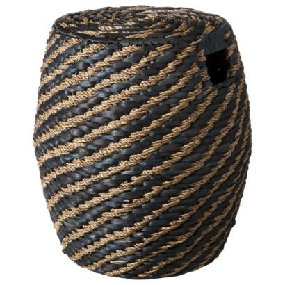 Wicker Chairs With Ottoman Underneath Chair Design Considerations @nate Berkus Woven Slot Handles   Nate At Target Pinterest ...