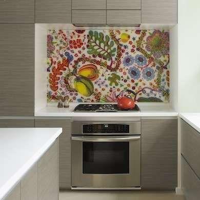 17 Backsplashes for a Unique Kitchen White counters, Kitchen reno
