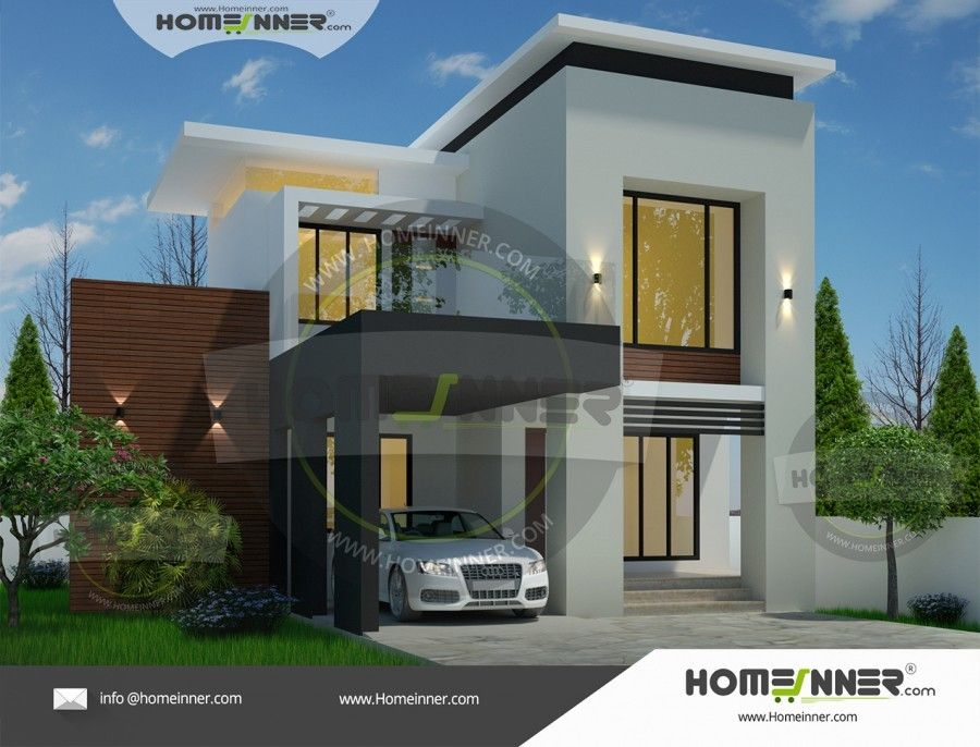 Contemporary style bhk house plan also home designs pinterest rh