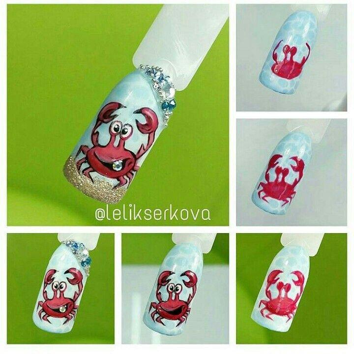 pelikh_ nailz | nail trainer | Pinterest | Uña decoradas, Arte de ...