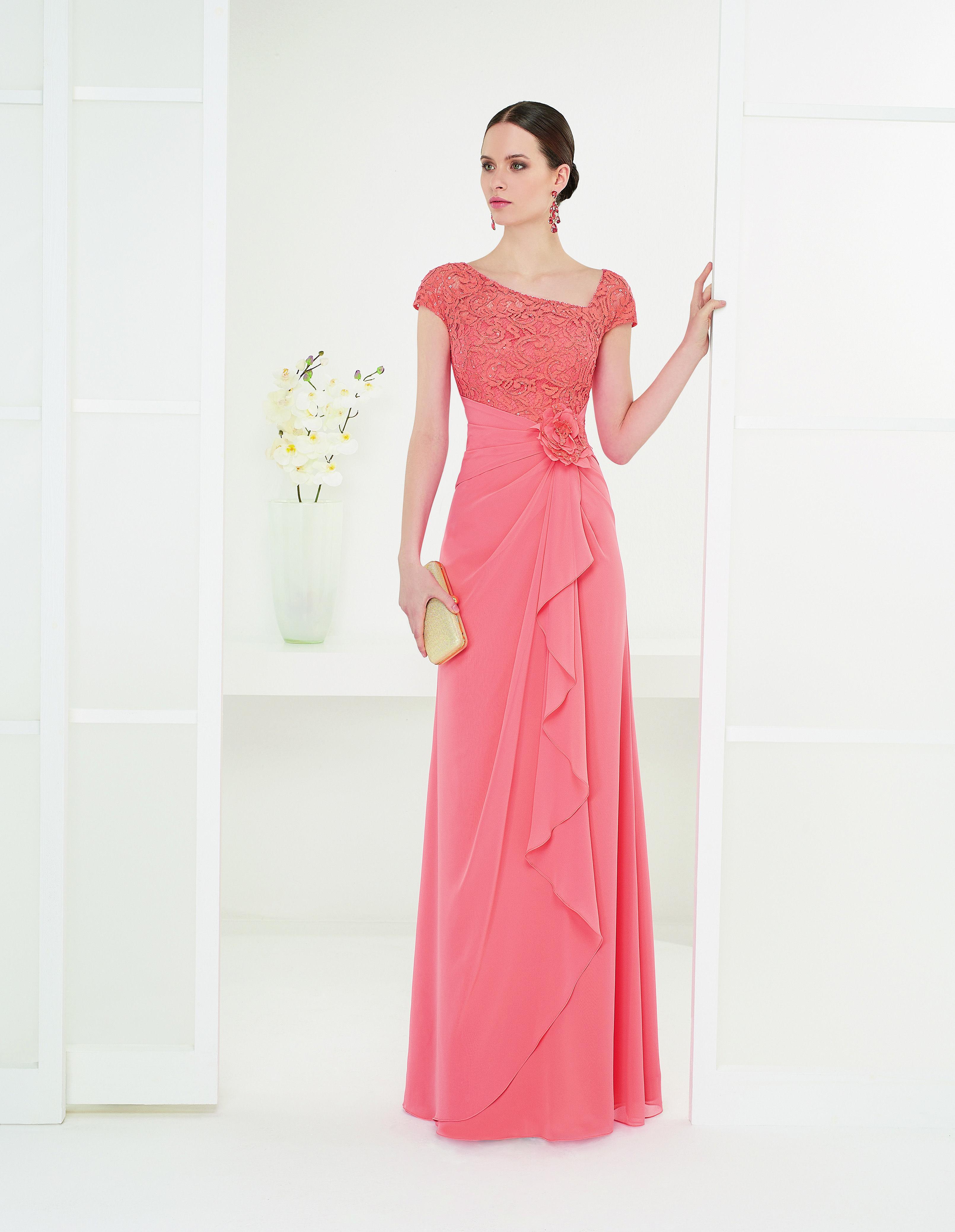 Outlet vestidos fiesta rosa clara – Moda Española moderna 2018