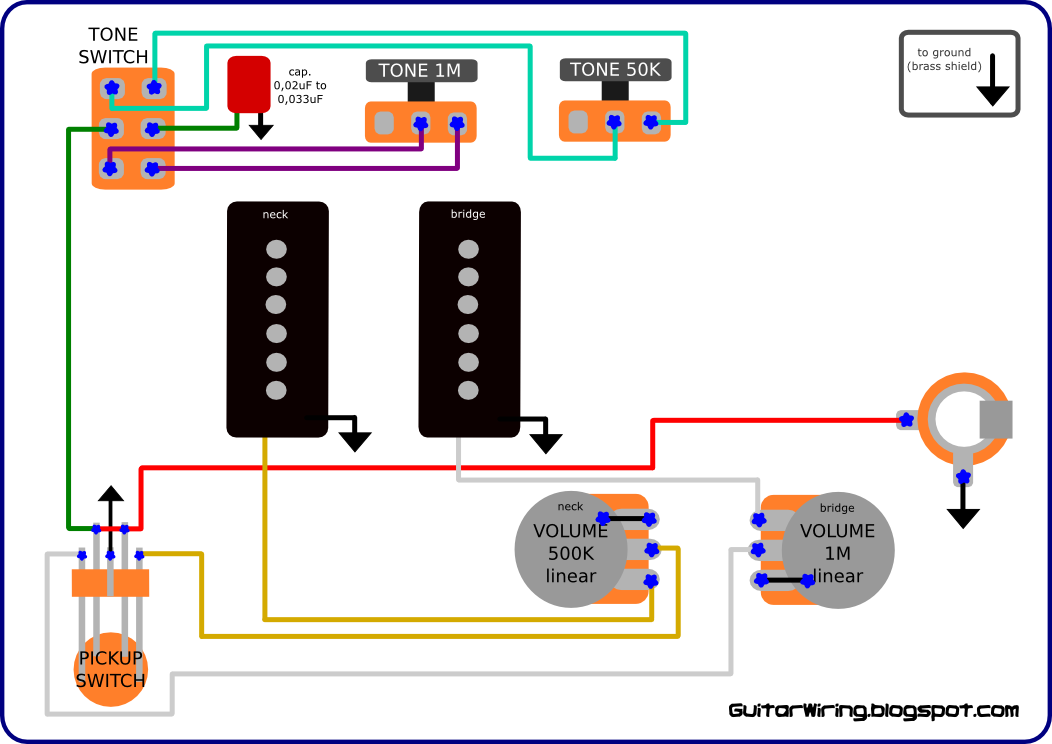 The Guitar Wiring Blog - diagrams and tips: Fender Jazzmaster ...