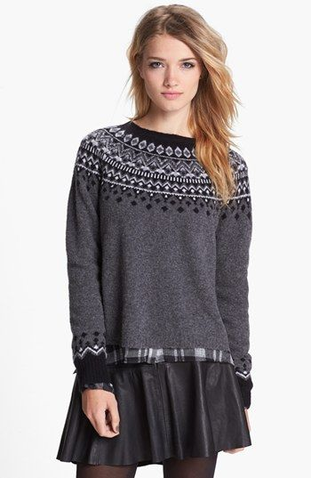Joie 'Deedra' Fair Isle Sweater available at #Nordstrom | Sweater ...