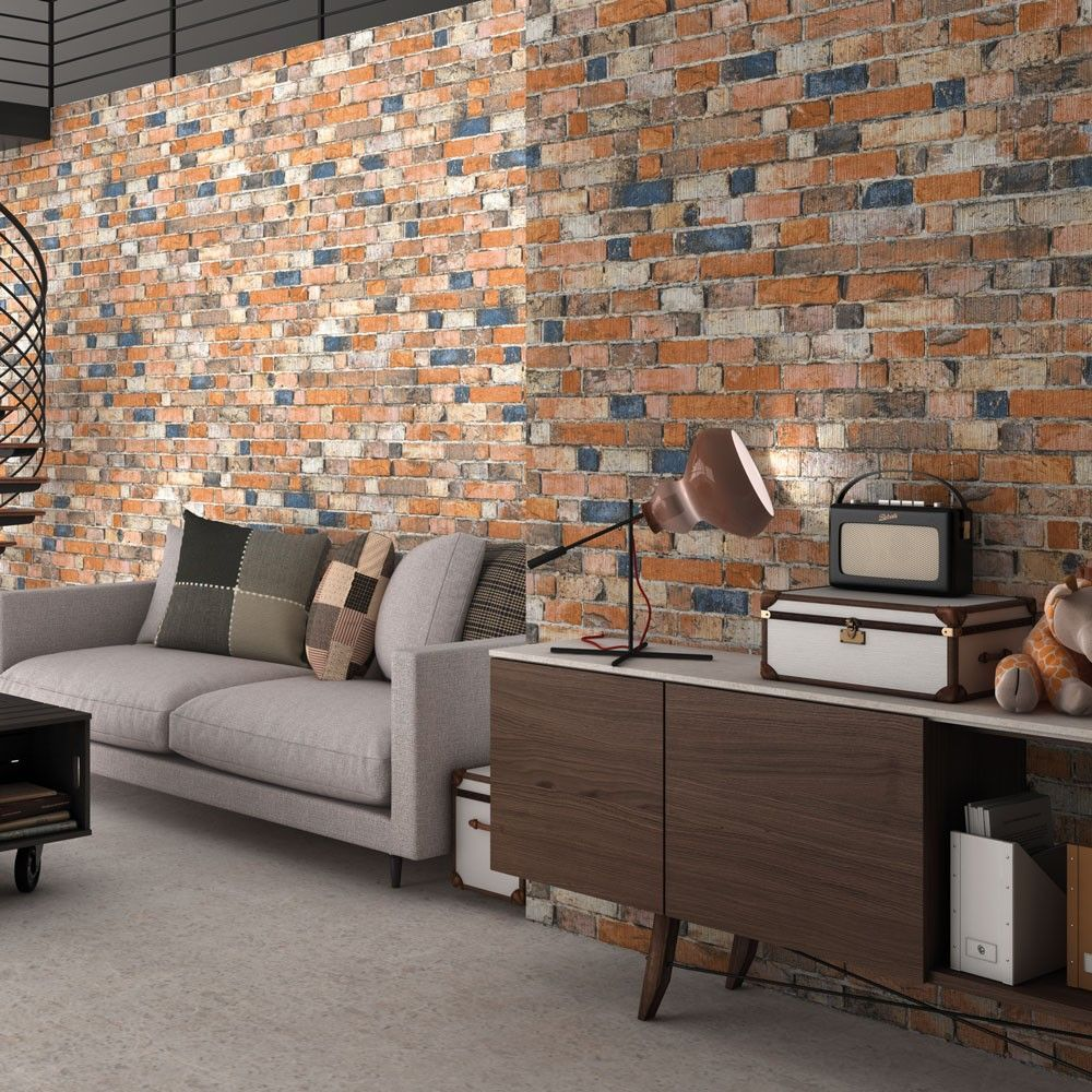 Rustic mix brick slip effect tiles old millhouse brick tiles rustic mix brick slip effect tiles old millhouse brick tiles 480x320x85mm tiles dailygadgetfo Images
