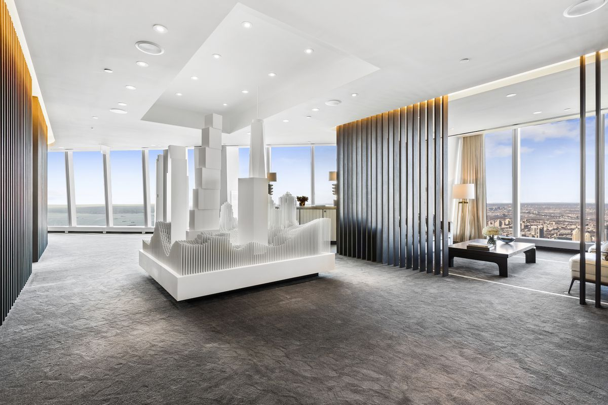 K At 125 Greenwich S Gallery Inside One World Trade Center Curbed Ny