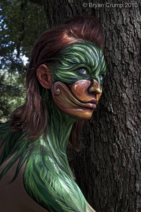 Photo of 24 Of The Hottest Body Paint Transformations Ever