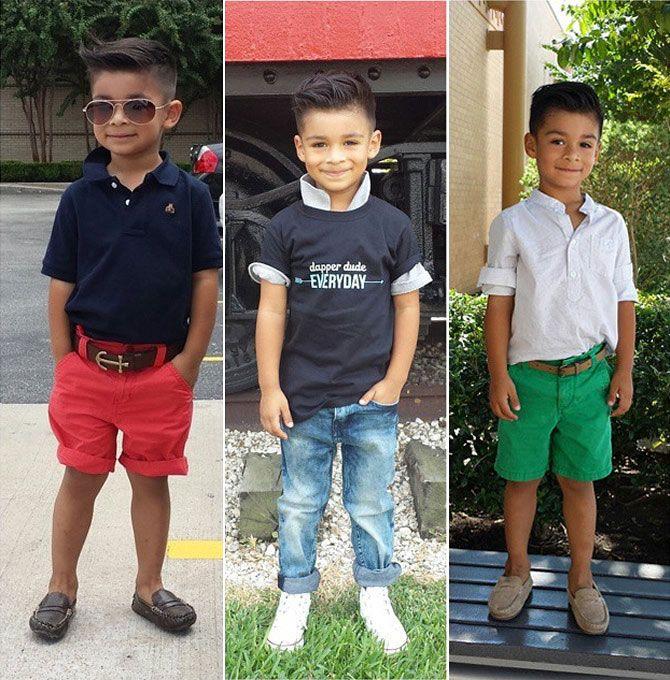Resultado de imagem para crianças meninos fashion