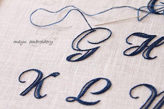 次回作はアルファベットサンプラー 刺繍 図案 刺繍 やり方 文字 刺繍 やり方 イニシャル