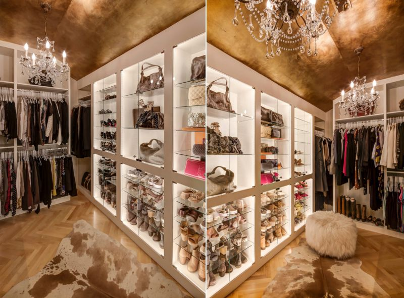 25 Contemporary Walk-in Closets Every Woman Dreams to Own ...