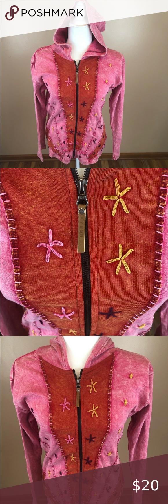 Kyber Pink Boho Patchwork Hooded Zip Up Jacket Kyber Boho Style Patchwork Outerwear Zip Up Jacket With Hood Hooded Sw Pink Boho Sweatshirt Fashion Mint Dress [ 1740 x 580 Pixel ]