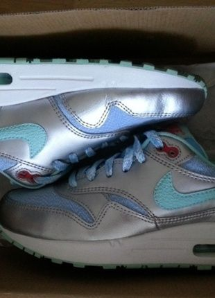 Nike Air max thea weiß beige Leopardenmuster